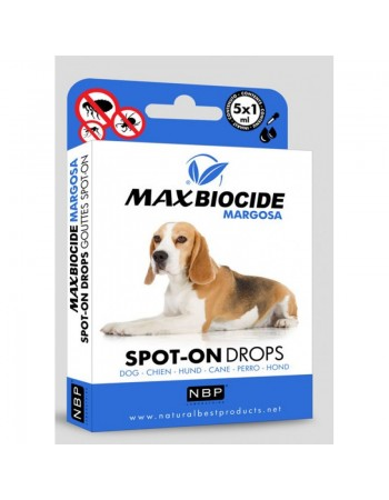 MAX BIOCIDE Margosa Dog Spot-On