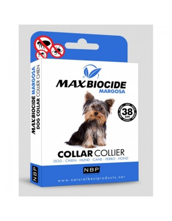 MAX BIOCIDE Margosa Small Dog Collar, 38cm