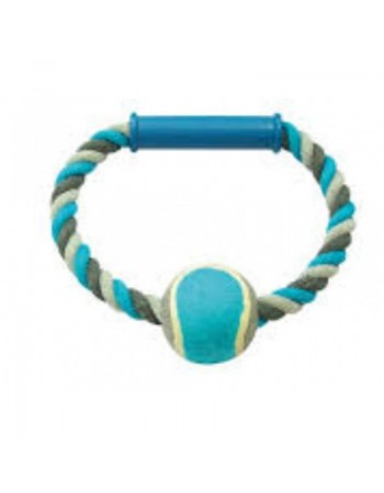 Duvo Plus Knotted Cotton o-Pull Ring, 18cm