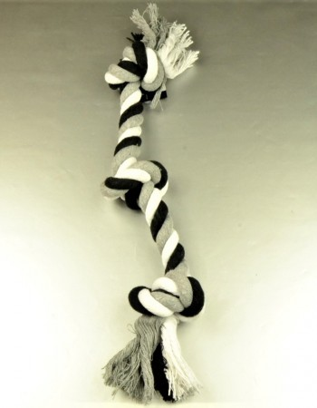 Cotton Flossy Toy 3 Knots, 45cm